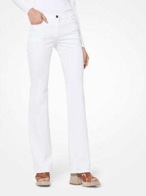 Cropped Flared Jeans by Michael Kors