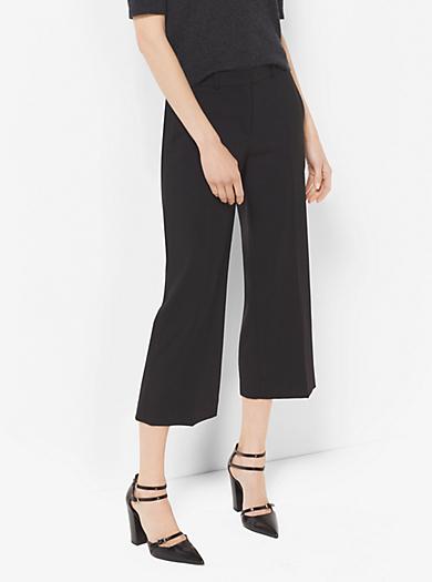 Pantalone in lana stretch taglio corto by Michael Kors
