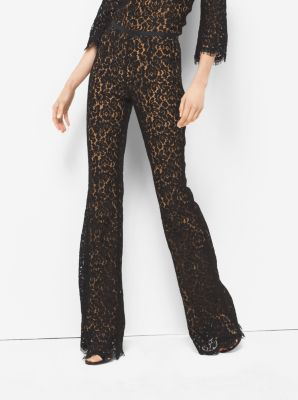 Floral Lace Flares  by Michael Kors
