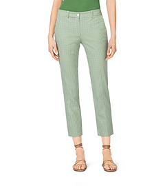 Samantha Gingham Cotton Pants