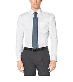 Cotton-Twill Dress Shirt