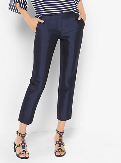Samantha Silk and Wool Pants by Michael Kors