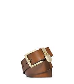 Charm Keeper Leather Belt