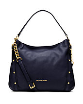 Leigh Large Leather Shoulder Bag