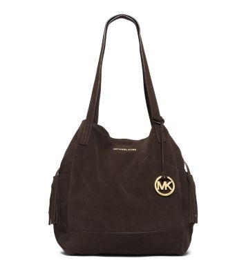 Michael Michael Kors Large Ashbury Suede Shoulder Bag 36