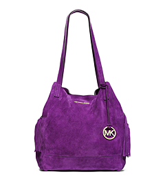 Ashbury Suede Extra-Large Shoulder Bag
