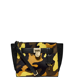 Hamilton Traveler Camouflage Hair Calf Messenger
