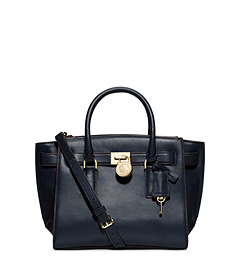 Hamilton Medium Leather Satchel