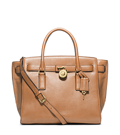 Hamilton Traveler Large Leather Satchel