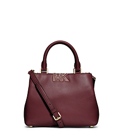 Florence Leather Small Satchel