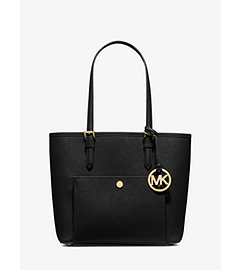 Jet Set Medium Saffiano Leather Tote  by Michael Kors