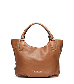 Vanessa Leather Medium Shoulder Bag