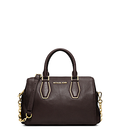 Vanessa Leather Medium Satchel