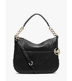 Shelley Studded Leather Shoulder Bag