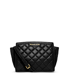 Selma Quilted Leather Medium Messenger