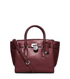 Hamilton Traveler Medium Leather Satchel