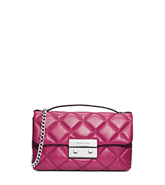 Sloan Quilted Leather Small Messenger