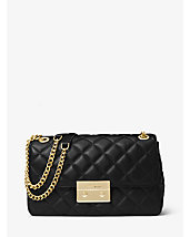 Sloan Large Quilted-Leather Shoulder Bag