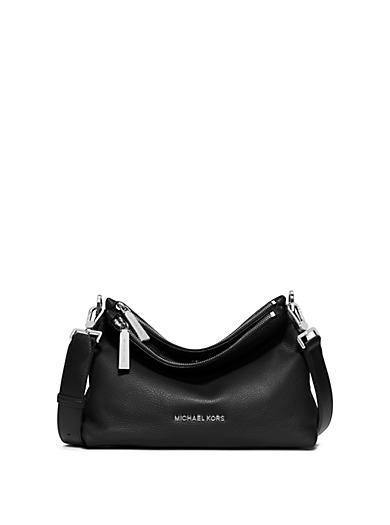Jane Medium Leather Messenger by Michael Kors