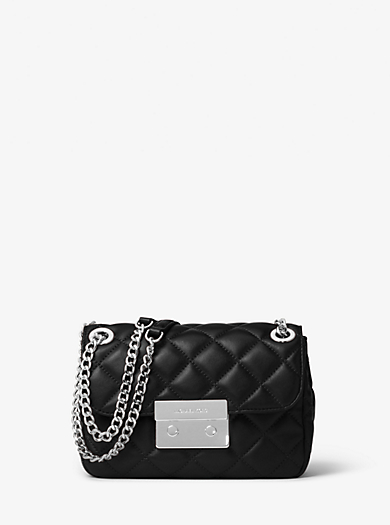 Sloan Small Quilted-Leather Shoulder Bag by Michael Kors