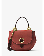 Isadore Medium Suede Satchel