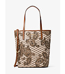 Emry Large North/South Heritage Paisley Tote