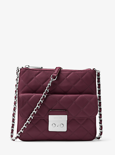 Sloan Medium Quilted-Leather Crossbody by Michael Kors