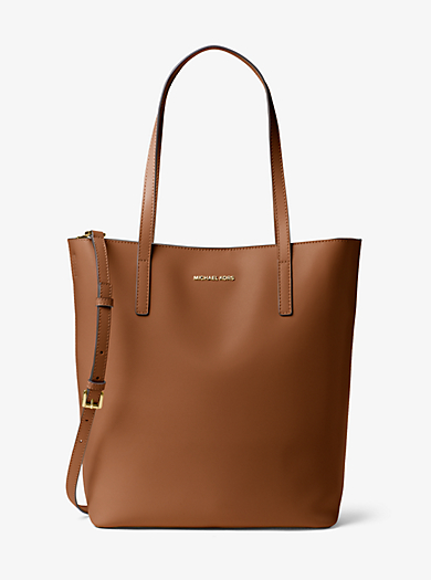 Emry Large Leather Tote by Michael Kors