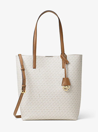 Hayley Large Logo North-South Tote by Michael Kors