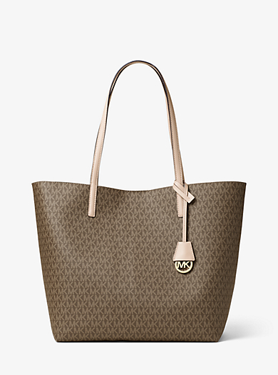 Hayley Large Logo Tote by Michael Kors