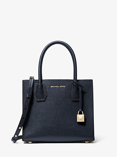 Tote Mercer media in pelle accoppiata by Michael Kors