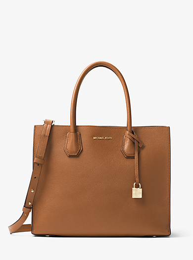 Borsa tote Mercer grande in pelle by Michael Kors