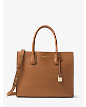 Mercer Large Bonded-Leather Tote