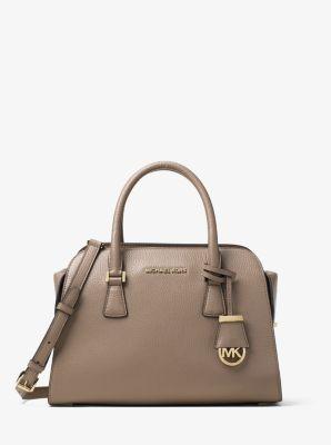 Harper Medium Leather Satchel by Michael Kors