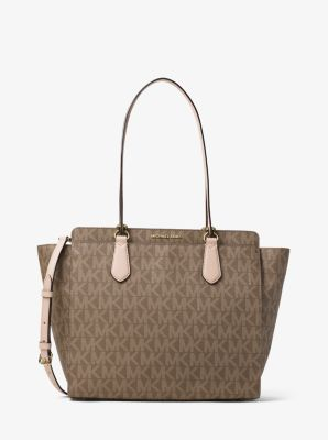 Dee Dee Large Convertible Logo Tote by Michael Kors