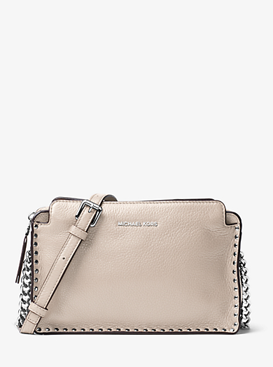 Astor Large Leather Crossbody by Michael Kors