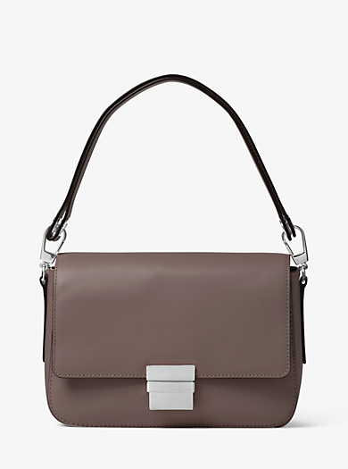 Madelyn Large Leather Messenger by Michael Kors