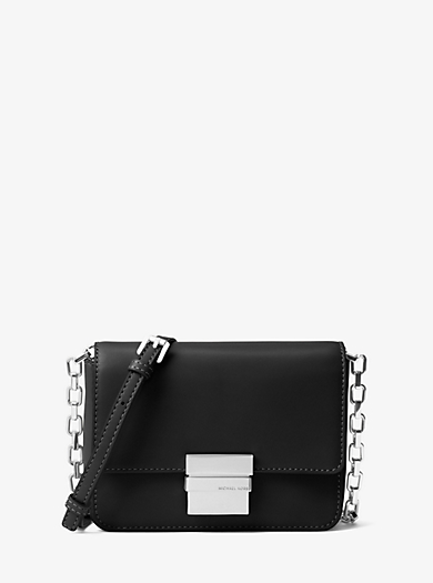 Madelyn Small Leather Messenger by Michael Kors