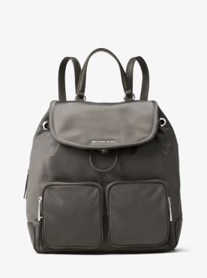 Cara Large Nylon Backpack by Michael Kors