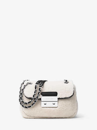 Sloan Small Shearling Shoulder Bag by Michael Kors