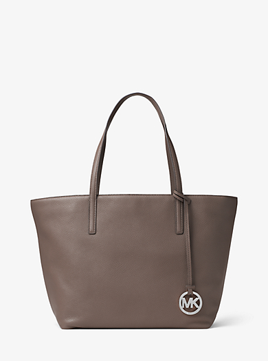 Izzy Large Leather Tote by Michael Kors