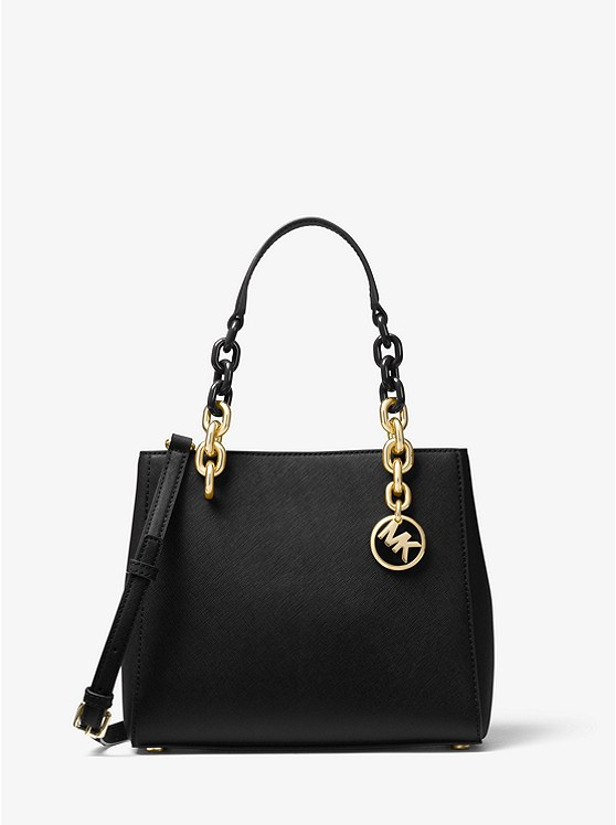 Cynthia Saffiano Leather Satchel | Michael Kors