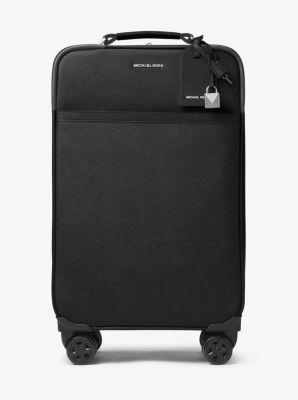 마이클 마이클 코어스 Michael Michael Kors Jet Set Travel Saffiano Leather Suitcase,BLACK