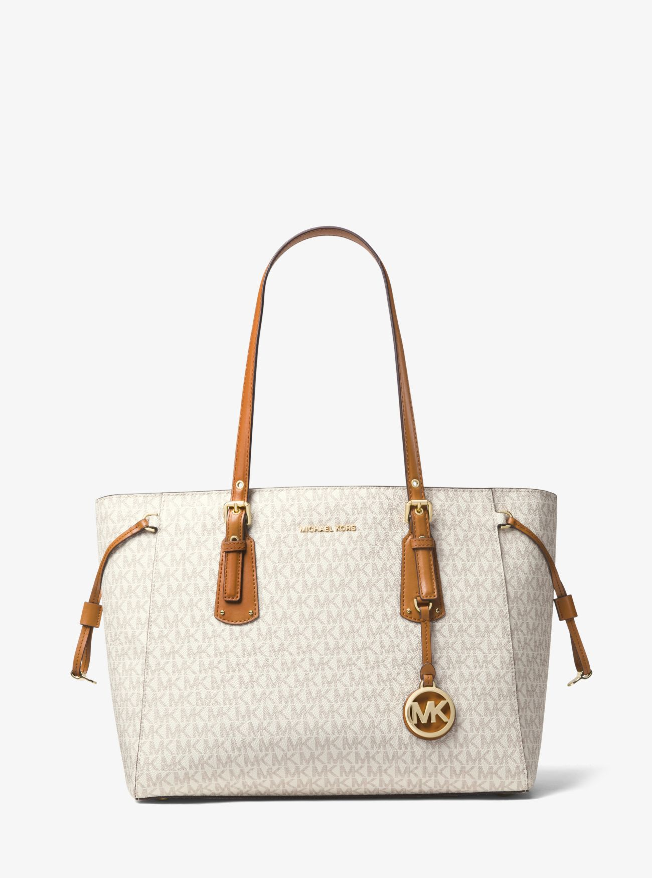Michael Kors Bolso Tote Voyager Mediano Con Logotipo d678d5a2fa4