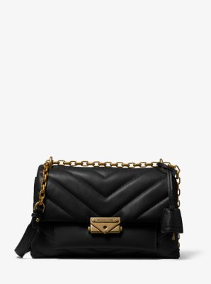 마이클 마이클 코어스 숄더백 Michael Michael Kors Cece Medium Quilted Nappa Leather Convertible Shoulder Bag,BLACK