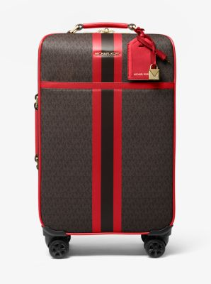 마이클 마이클 코어스 Michael Michael Kors Bedford Travel Extra-Large Logo Stripe Suitcase
