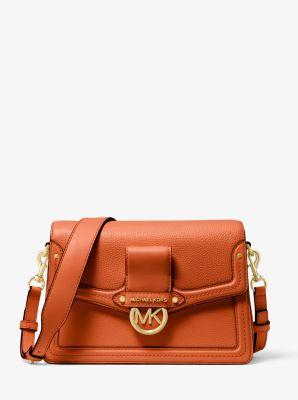 마이클 마이클 코어스 Michael Michael Kors Jessie Medium Pebbled Leather Shoulder Bag