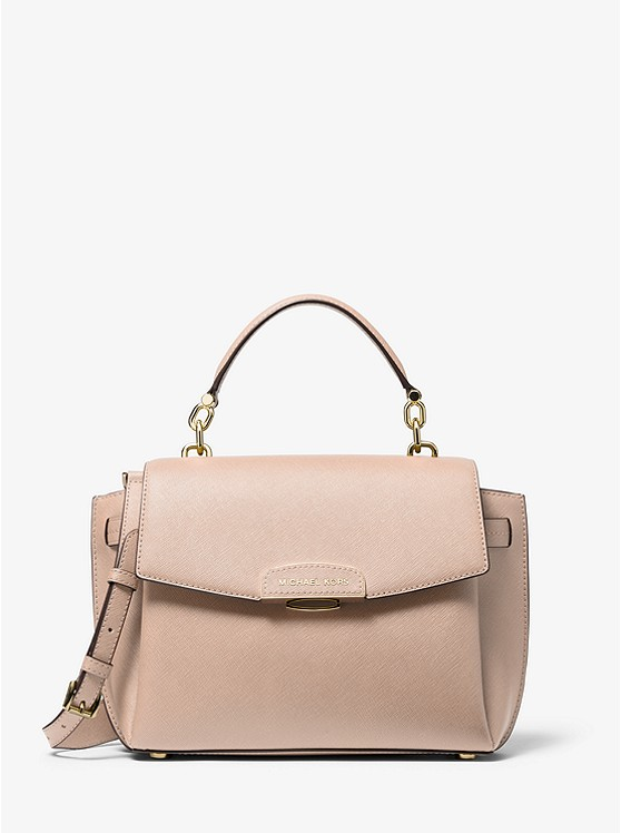 Rochelle Medium Saffiano Leather Satchel | Michael Kors