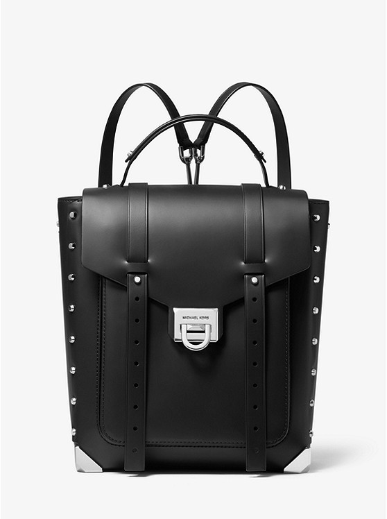 Manhattan Medium Leather Backpack | Michael Kors