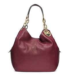 Fulton Leather Large Shoulder Bag